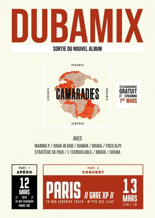Dubamix : nouvel album Camarades