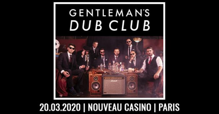 Gentleman's Dub Club en concert à Paris le 20 mars