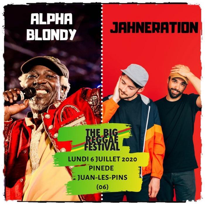 Alpha Blondy et Jahneration au Big Reggae Festival