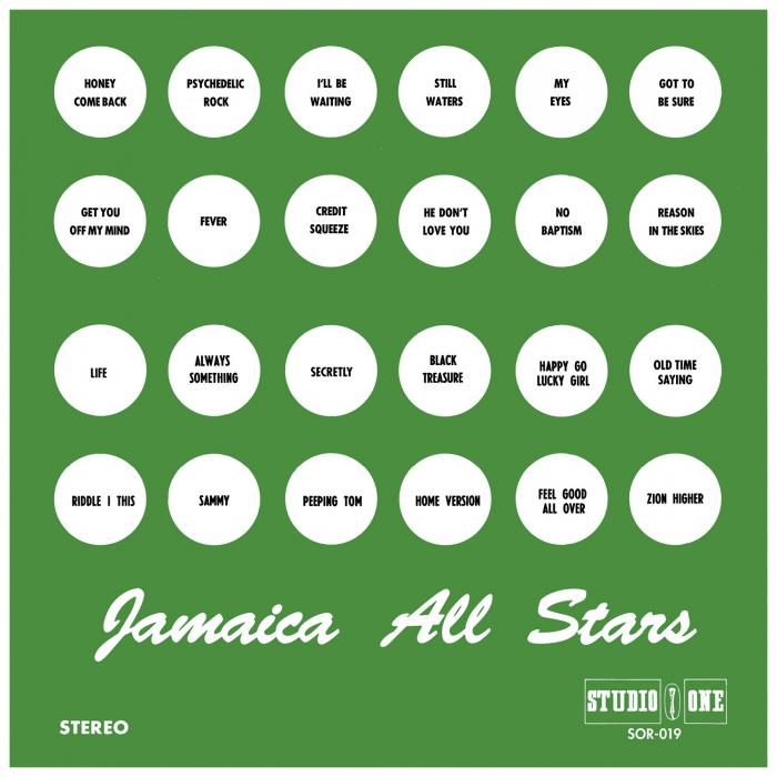 Studio One réédite 'Jamaica All Stars'
