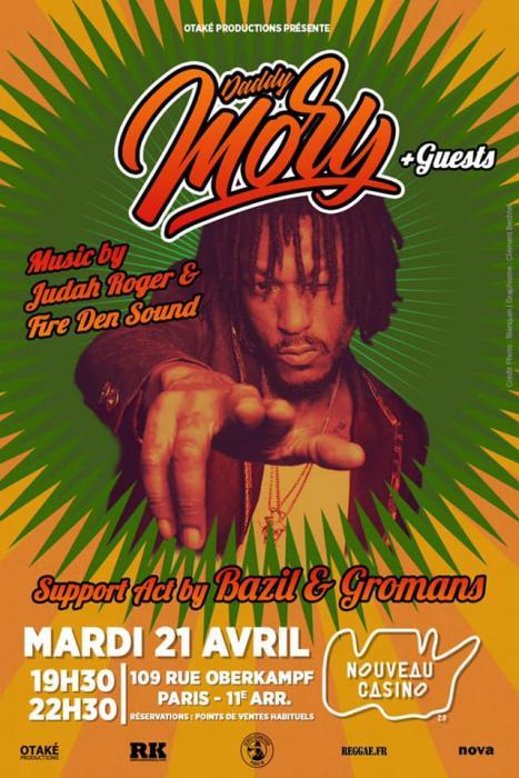 Daddy Mory au Nouveau Casino le 21 avril