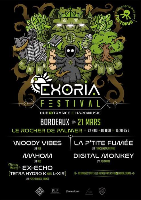 Exoria Festival à Bordeaux le 21 mars