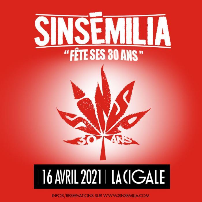 Sinsemilia fête ses 30 ans en 2021 !!!