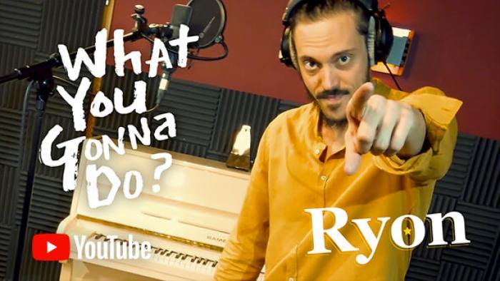 En studio avec Ryon pour leur 3ème album