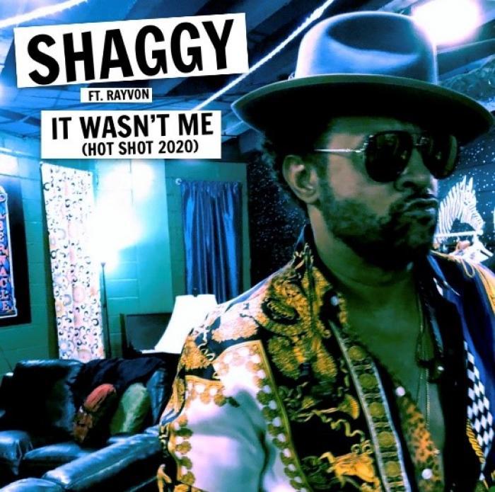 Shaggy fête les 20 ans de 'It Wasn't Me'