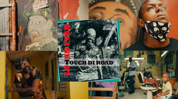 Lutan Fyah 'Touch Di Road' le clip
