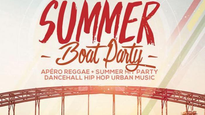 Summer Boat Party à Paris ce vendredi