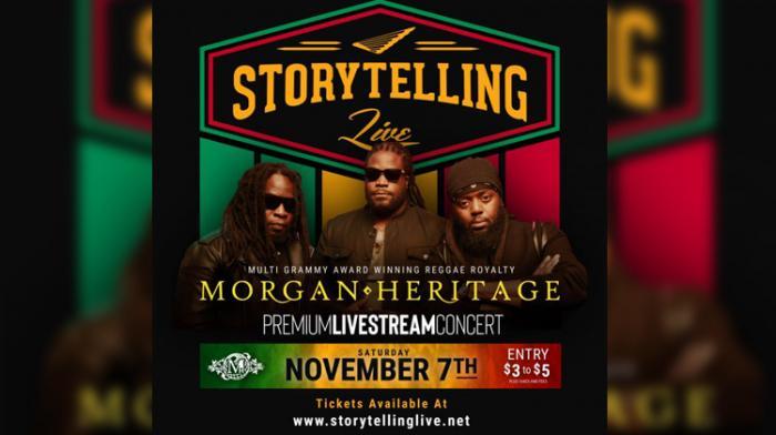 Morgan Heritage : un concert caritatif en stream le 7 novembre