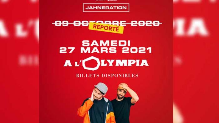 Jahneration reporte son Olympia