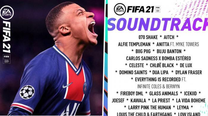 Buju, Koffee et Govana sur FIFA 21