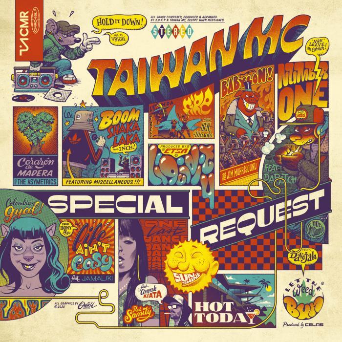 Taiwan Mc : Special Request est dispo !