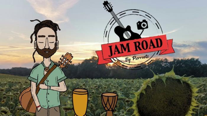 JAM ROAD : le projet de Pierroots et Confinement Musical