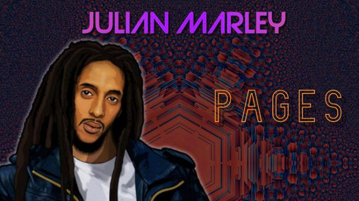 Julian Marley signe 'Pages'