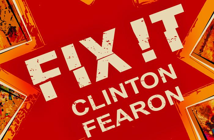 Clinton Fearon : un single de circonstance FIX IT