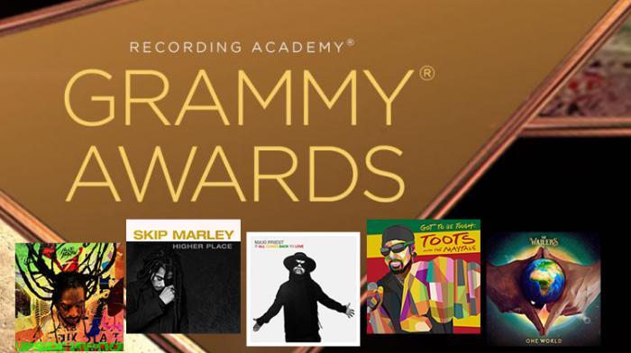 Grammy Awards : les nommés pour le meilleur album reggae !!!