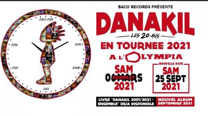 Danakil : album et tournée reportés