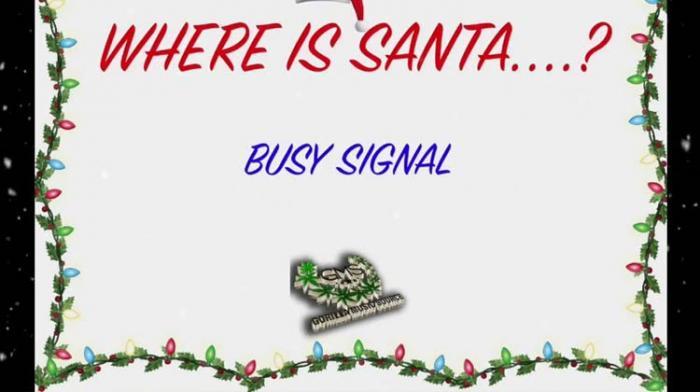 Busy Signal se demande où est le père noël