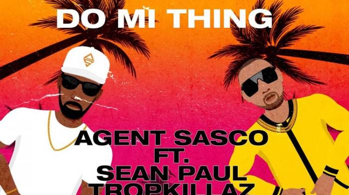 Agent Sasco invite Sean Paul et Tropkillaz sur son EP