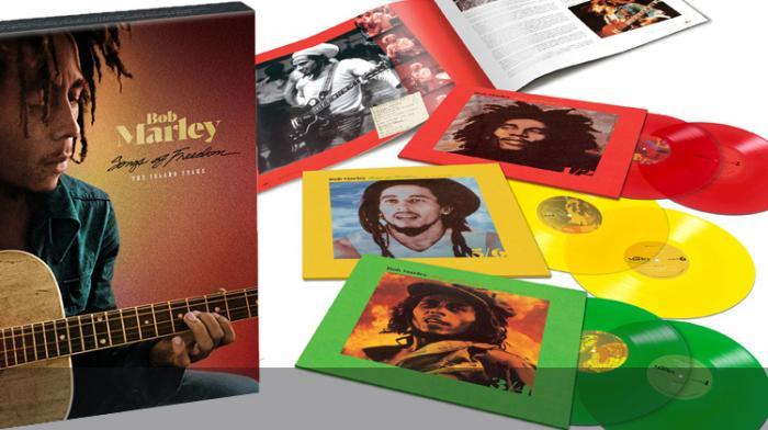 Nouveau coffret vinyles Bob Marley