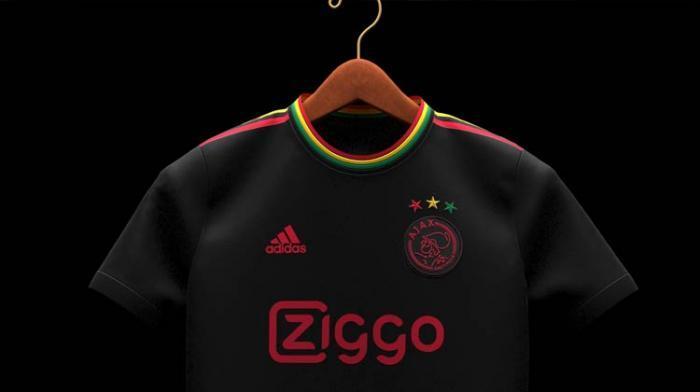 L'Ajax rend hommage à Bob Marley sur son nouveau maillot