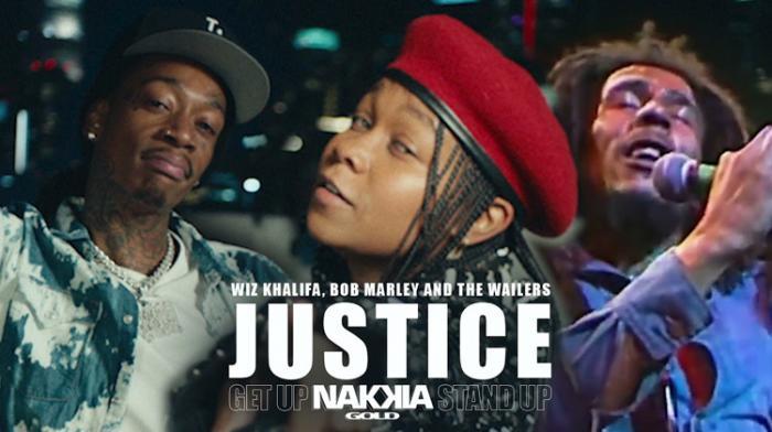 Reprise de Get Up Stand Up par Nakkia Gold et Wiz Khalifa