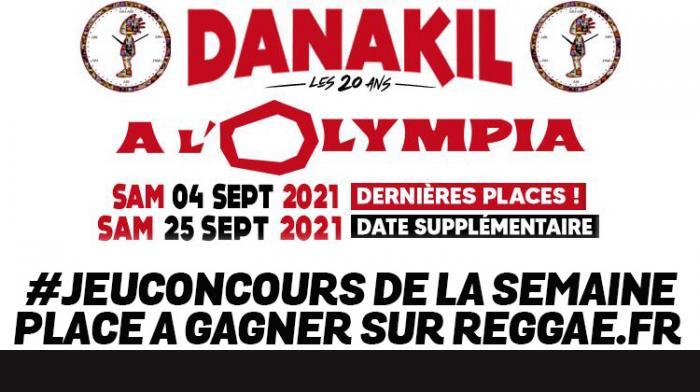 Danakil à l'Olympia : gagnez votre place