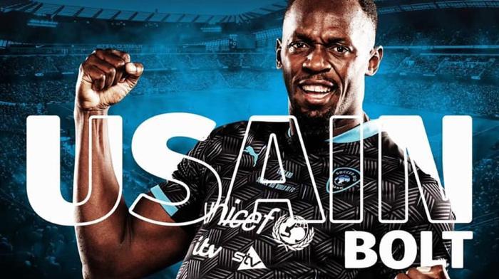 Usain Bolt rechausse les crampons pour la bonne cause