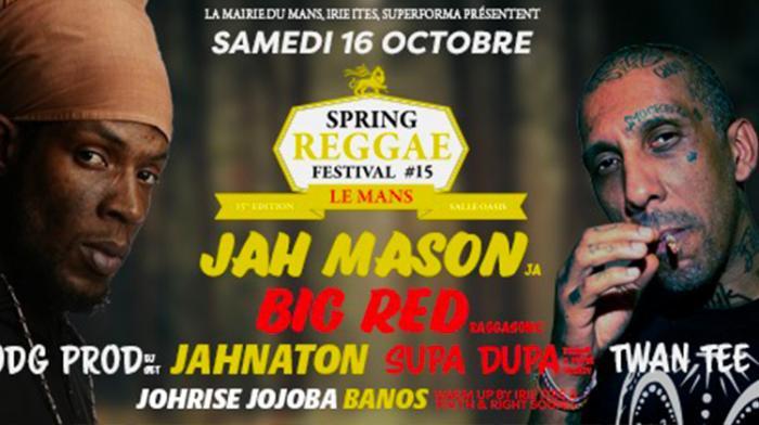 Spring Reggae Fest au Mans avec Jah Mason et Big Red