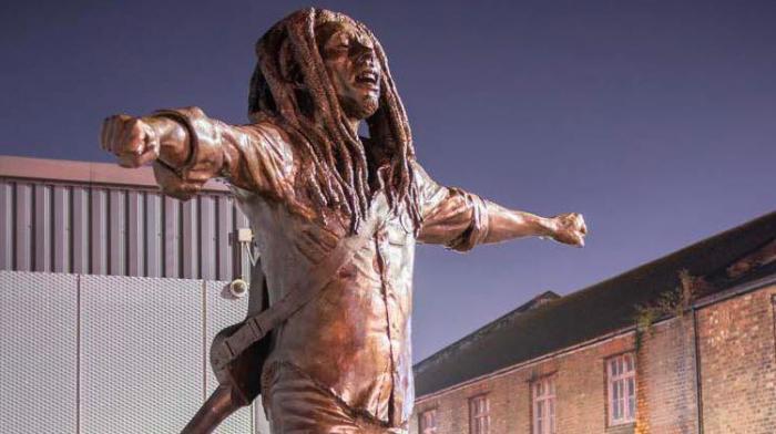 La statue de Bob Marley à Liverpool dévoilée
