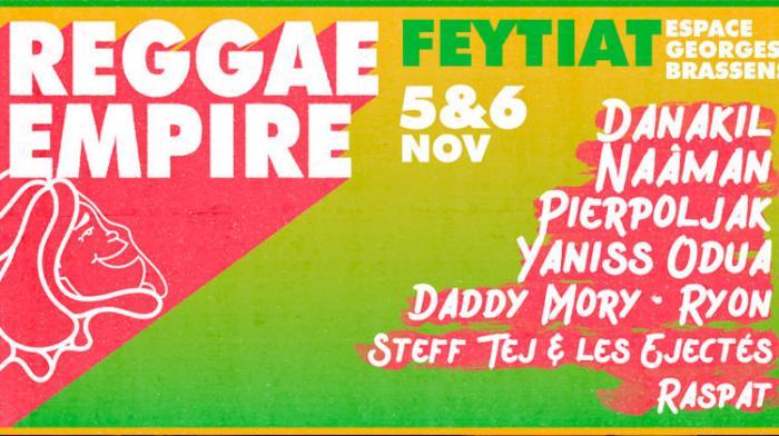 Reggae Empire Festival en novembre