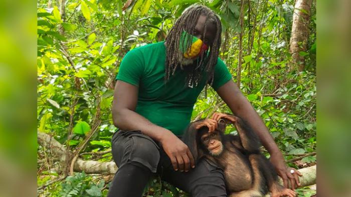 Tiken Jah Fakoly soutient la défense des chimpanzés de Côte d'Ivoire