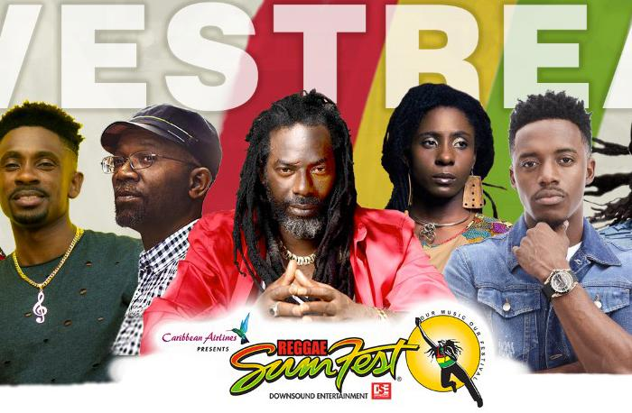 REGGAE SUMFEST EN DIRECT