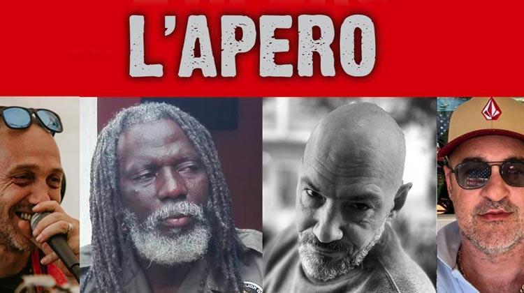 Tiken Jah Fakoly et Uman dans l'Apéro